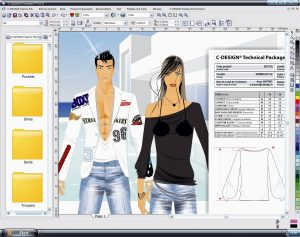 Corel C-DESIGN program